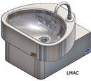 Handwaschbecken LMAC mit Kniebedienung