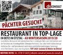 Restaurant in TOP-Lage im Ötztal!