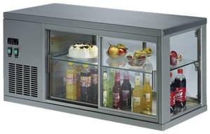 Kühltechnik: Aufsatzkühlvitrinen GS-VS - 3-seitig verglast