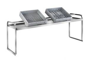 Spültechnik: Sortiertischaufsatzborde für Spülmaschinen Geschirrkörbe