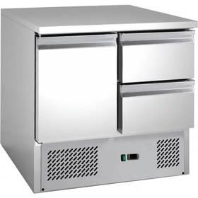 Kühltechnik: Gastro Kühltisch 1 Tür, 2 Schubladen