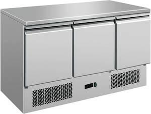 Kühltechnik: Gastro Kühltisch 3 Türen