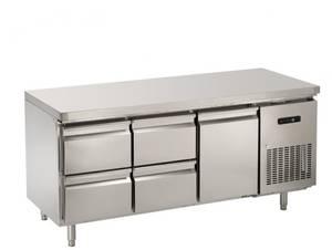 Kühltechnik: Gastro Kühltisch 1 Tür, 4 Schubladen