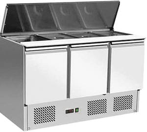 Kühltechnik: Gastro Saladette 3 Türen