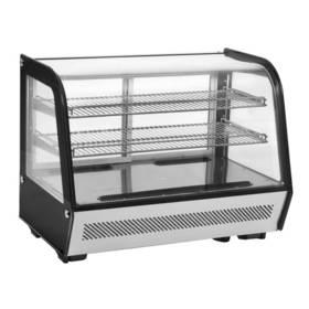 Kühltechnik: Kühlaufsatzvitrine mit 2 Ablagerosten