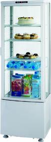 Kühltechnik: Kühlvitrine mit 4 Ablagen