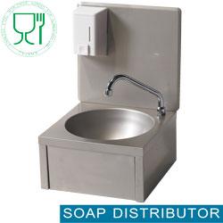 Spültechnik: Handwaschbecken mit Seifenspender, Wandmontage 500ml