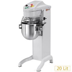 Pizzatechnik: Rühr- Knet- und Mischmaschine, hoher fuß, 20 Liter