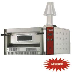 Pizzatechnik: Gas Ofen, 4 Pizzen Ø 330 mm