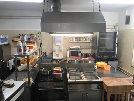 Teilbereich Küche