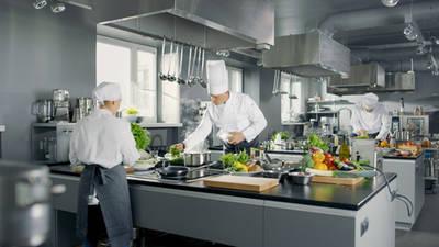 Komplette Gewerbeküche
