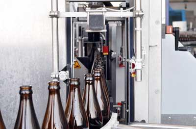 Bier Abfüllanlage