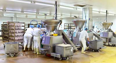 Lebensmittelmaschinen Wursterzeugung